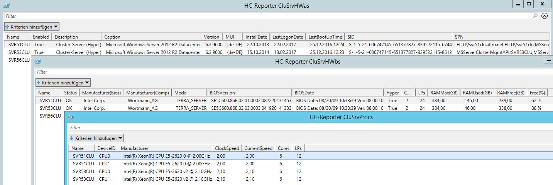 Cluster Server Hardware