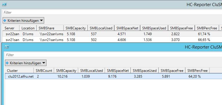 Prov.Check Cluster Volume SMB